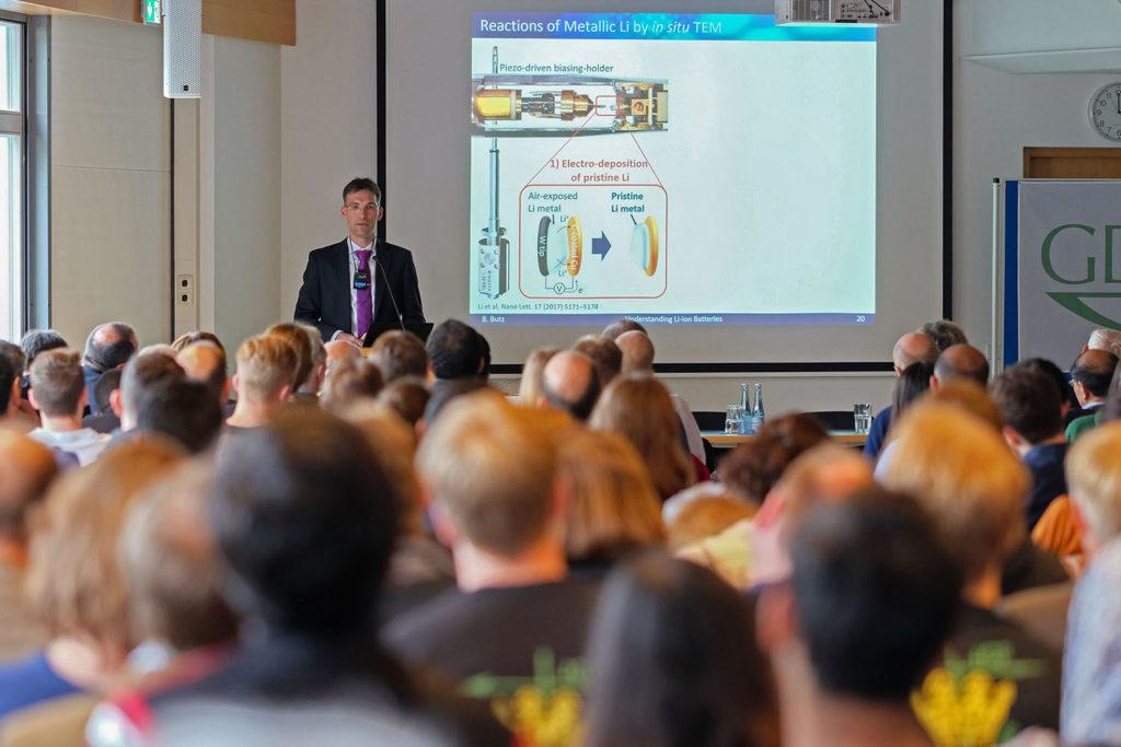 GDCh Symposium Joachim Frank Benjamin Butz 2018