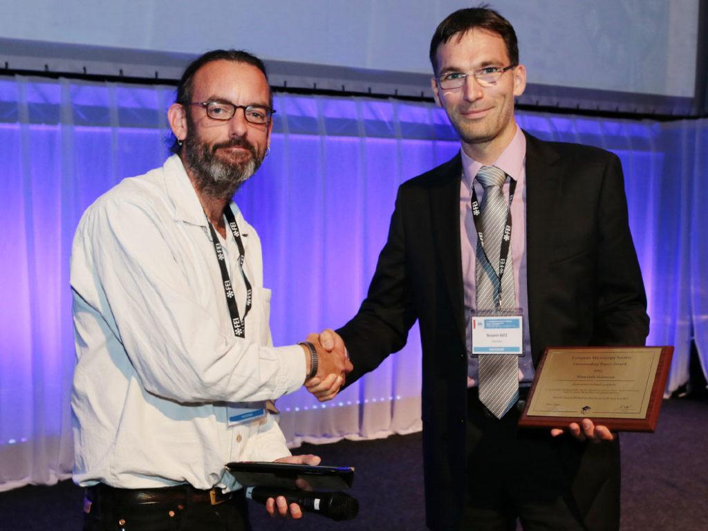 Benjamin Butz - EMS Outstanding Paper Award